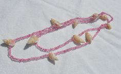 Pink Bead Neckles by HillsideCreations on Etsy, $5.00