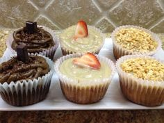 Love these cupcakes from Make It Paleo - make them all the time for people who don't eat paleo and they always are a big hit.