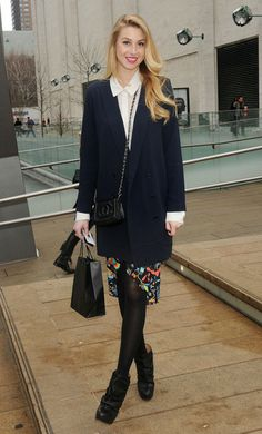 Whitney Port - Celebs at the Lincoln Center