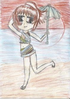my random drawing [ I'm just starting pleaz don't critisize me ] : ( - anime Fan Art