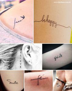 Inspiração Mini Tattoos - Djuliana Cappellari