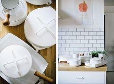 White Dansk Kobenstyle cookware