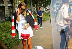 #MFW street style shot by Phil Oh