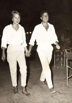 Leonard Cohen and Marianne Ihlen in Hydra, Greece 1960