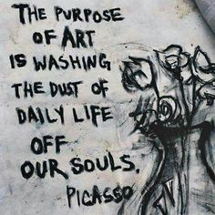 art, picasso, and purpose image art art graffiti art quotes Schrift Design, Grafiti, Boxing Quotes, Artist Quotes, Quotes For Artists, Famous Artists, Daily Inspiration Quotes, Quote Art, Graffiti Art