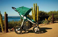 Amazon.com : Bumbleride Indie Jogging Stroller, Green Papyrus : Jogging Strollers : Baby