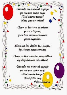 Descargar Poemas Infantiles para Imprimir | Planeaciones para Primaria Love Graffiti, Spanish Songs, Spanish Class, Finger Plays, Dual Language, What Inspires You, Have A Laugh, Kids Corner, Teaching Spanish