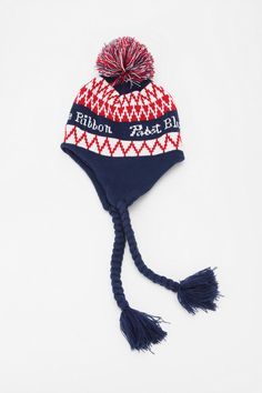 488d1efa131 Pabst Blue Ribbon Trapper Hat. Pabst Blue RibbonTrapper HatsBeanie  HatsBeaniesWinter ...