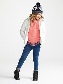 Girls Frost Free Hooded Jacket