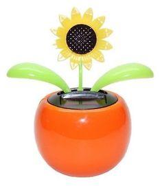 Dancing Flower 3 Daisy White 3 Sunflower Smily Solar TOY Birthday Gift Decor…