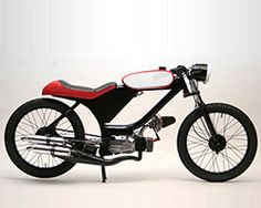 motomatic step your game up is a minimalist custom moped