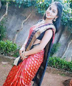 being marathi © ( Beautiful Girl In India, Beautiful Girl Image, Beautiful Saree, Beautiful Asian Girls, Beautiful Dresses, Beautiful Women, Indian Girl Bikini, Indian Girls, South Indian Actress Hot