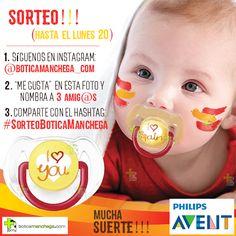 ¡¡¡SORTEO en Instagram!!!! Hasta el 20 de #Junio. Toda la info AQUÍ: https://www.instagram.com/boticamanchega_com/ ---- #SorteoBoticaManchega #España #premio #BoticaManchega #puericultura #chupetes #PhilipsAvent #silicona #SPAIN #bebe #Sorteo #eurocopa #laroja #eurocopa2016 #vamosespaña #selecciónespañola #francia #EURO2016 #babyblog #chupete #fashion #love #iloveyou #ilovespain #suerte