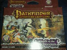 Pathfinder Adventure Card Game:Deck #2-Wrath of the Righteous Sword of Valor NEW #Paizo