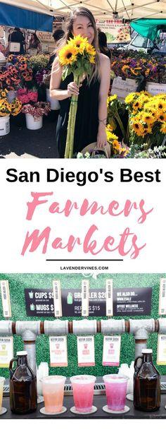 San Diego's Best Farmers Markets, San Diego things to do, living in San Diego trip, San Diego shopping, San Diego food, San Diego vacation #sandiego #california #farmersmarket