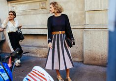 Fashion Week Street Style: Spring 2016 Ready-to-Wear