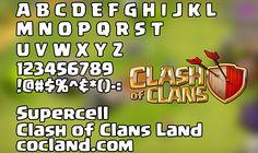 Scarica il Font Clash of Clans Ti sei mai chiesto come poter scrivere con le