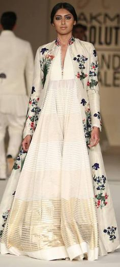 Pinterest:@Littlehub || คdamant love on Anarkali's ✿。。ღ || Rohit bal at lakme fashion week
