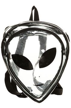 The Transparent Alien Backpack by O-Mighty use rep code: OLIVE for 20% off!