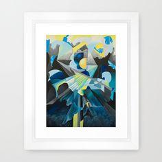 C'est la femme Framed Art Print