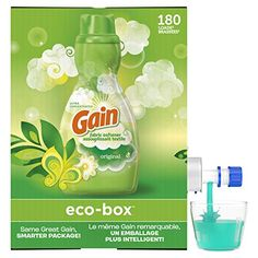 Amazon has the Gain Laundry Liquid Fabric Softener, Original Scent priced at $11.38. Clip the coupon and check out using Subscribe & Save to get this for only $7.96 with free shipping. Same great GAIN, smarter package Packaging made with 75% less plastic per oz vs. 3 x 51oz bottles Compact size and easy to…