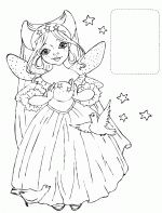 Princesses coloring pages 17
