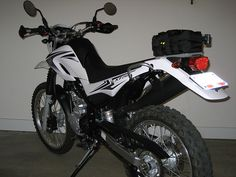XT250 with Acerbis Dual Sport Taillight