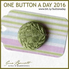 Day 131: Quilt #onebuttonaday by Gina Barrett