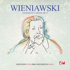 [Note: This product is an authorized CD-R and is manufactured on demand] Wieniawski: Legende in G Minor, Op. 17 (Remastered) - Vadim Repin & Irina Vinogradova