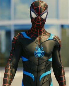 Miles Morales Spider-man Stealth Suit_by Black Spiderman, Amazing Spiderman, Spiderman Suits, Spiderman Spider, Marvel Comics, Marvel Comic Universe, Marvel Heroes, Marvel Characters, Marvel Avengers
