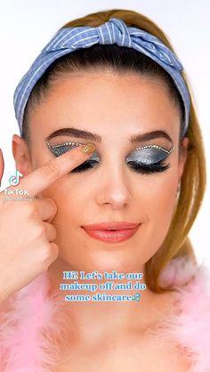 Facial Routine Skincare, Monster High Makeup, Makeup Makeover, Crazy Makeup, Skin Food, Perfect Makeup, Creative Makeup, Hair Videos, Beauty Skin