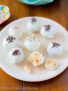 Easy Oreo Truffles - only 4 ingredients needed. They taste like chocolate-covered cheesecake!