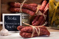 Polska kiełbasa produkowana w naturalny sposób jest podobno jedną z najlepszych na świecie! #sausage #eco www.koronakarkonoszy.pl