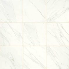 Floors - Florentine 24x24 FL06   Carrara-Matte White