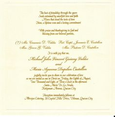 words for a wedding invitation
