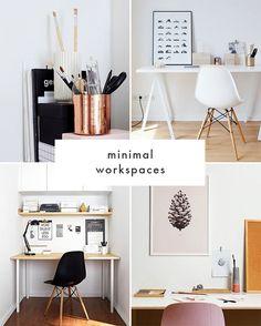 Minimal Workspaces | The Blog Market