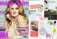 Urban Couture Design + Homewares featured in Marie Claire Australia - April 2014