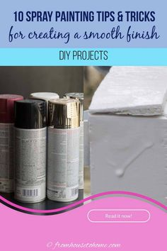 I have some serious spray painting goals, so these spray painting tips and techniques are coming in super handy. Definitely read these if you want to be confident spray painting furniture (or any other spray painting projects) and getting the spray paint on evenly! Drip Painting, Spray Painting, Painting Tips, Painting Techniques, Painting Metal, Spray Paint Cans, White Spray Paint, Metallic Paint, Mason Jar Candles