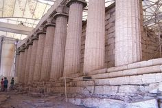 The Temple of Apollo Epicurius in the Peloponnese #apollo #epicourious #vassae #peloponnese #aks
