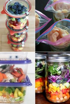 If you're interested in meal prepping but aren't sure how, here are some ideas to get you started!