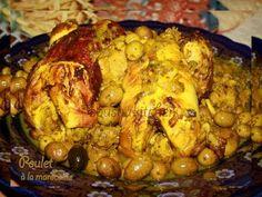 ▶ Chicken the Moroccan way/Poulet de compagne à la marocaine-Sousoukitchen - YouTube
