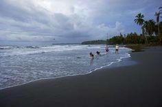 Playa Negro, black sand beach in Cahuita Costa Rica - UniversalImagesGroup/UIG via Getty Images/Getty Images