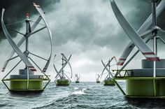 """Floating Gyro-Stabilized VAWT to Be Tested in Norway (VIDEO) - """"A model of a floating gyro stabilized Vertical Axis Wind Turbine (VAWT) for offshore and near-shore applications, which is called Gwind, will be tested in the harbor of Stavanger this autumn, according to the Norwegian Centre for Offshore Wind Energy (NORCOWE)."""""""