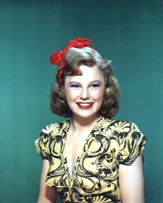 A very Happy Birthday to JUNE ALLYSON ‼️  October 7, 1917~~July 8, 2006