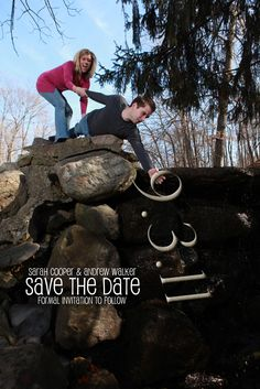 Our 'Save the Date!' Get it?! :)