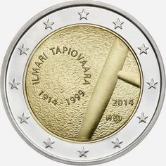 2 Euro 2014 Ilmari Tapiovaara and the art of Interior Design Finland Piece Euro, D Mark, Coins Worth Money, Euro Coins, Valuable Coins, Coin Worth, Commemorative Coins, Proof Coins, World Coins