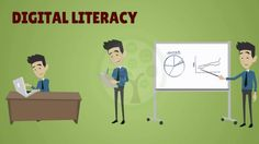 Digital literacy in simple words is the ability to find, evaluate, utilize, share, and create content using information technologies and the Internet. Citizenship Education, Digital Citizenship, Teaching Technology, Educational Technology, Teaching Strategies, Teaching Tips, 21st Century Schools, Cyber Safety, Computer Class
