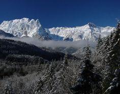 Mts. Index and Persis, Washington USA