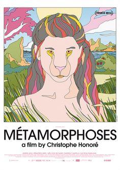 Film poster Métamorphoses (Christophe Honoré) #IFFR