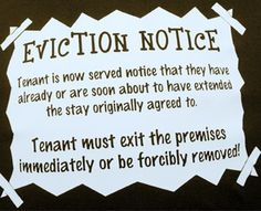 48 best eviction notice images on pinterest laproscopic